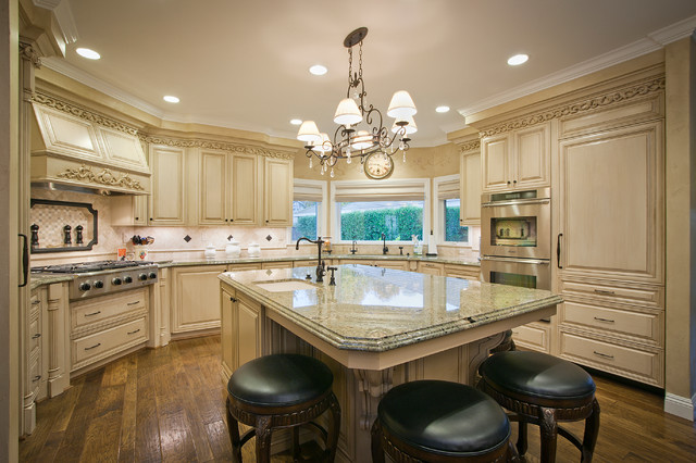 Kitchen Remodel Traditional Kitchen Sacramento By Woodcracfters Custom Cabinets Inc