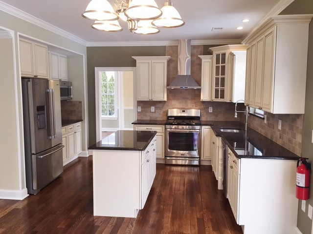 Kitchen remodeling in Monroe NJ - Traditional - Kitchen - Newark ...