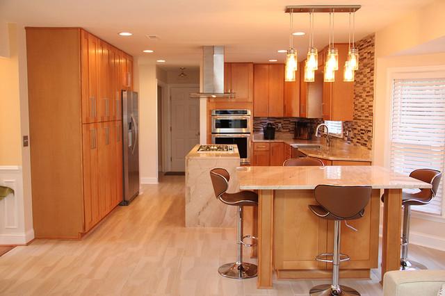 Kitchen remodeling rockville md contemporary for Bath remodel rockville md