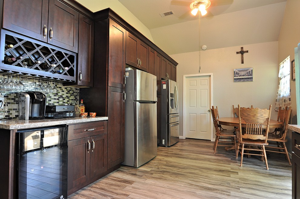 Kitchen Remodeling Project, Alvin TX - Transitional ...