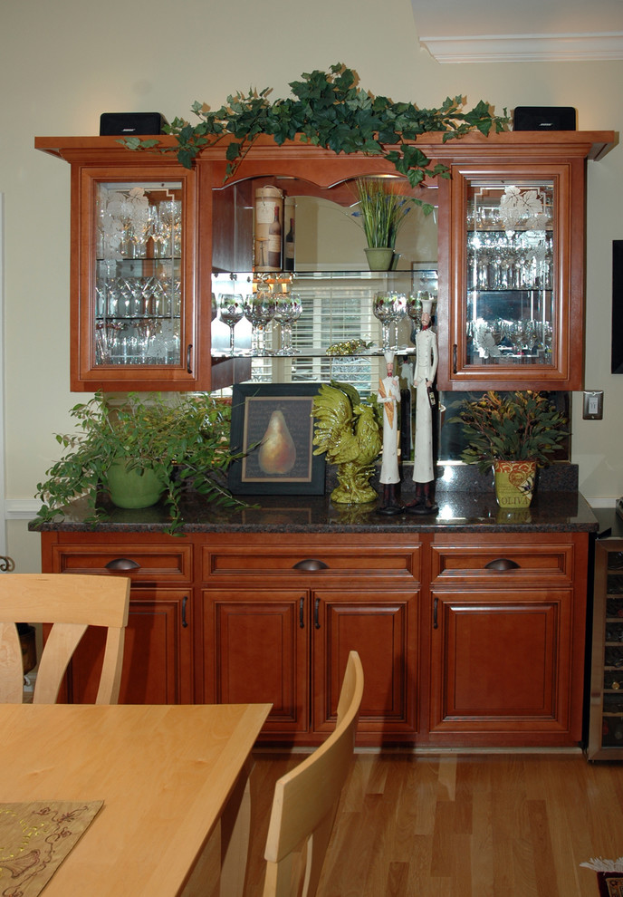 Kitchen Remodeling with Cabinet Refacing - Traditional ...