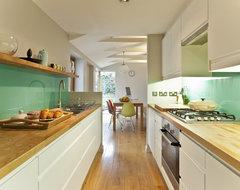 Kitchen remodelling in South Bristol midcentury-kitchen
