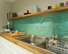 Kitchen remodelling in South Bristol midcentury-kitchen