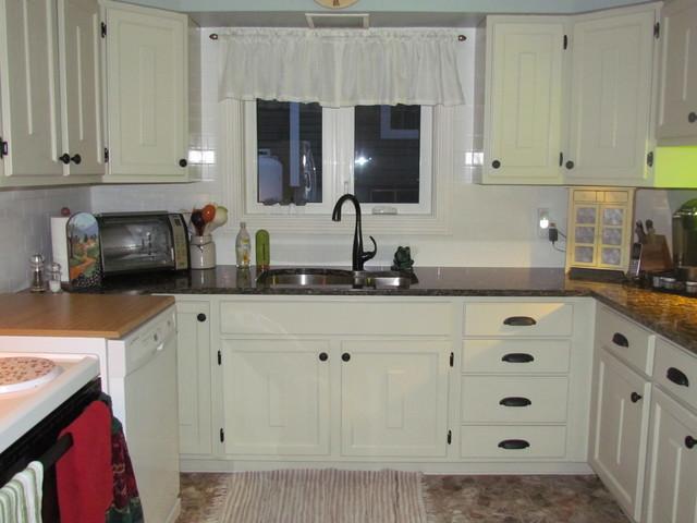Kitchen Reno traditional-kitchen