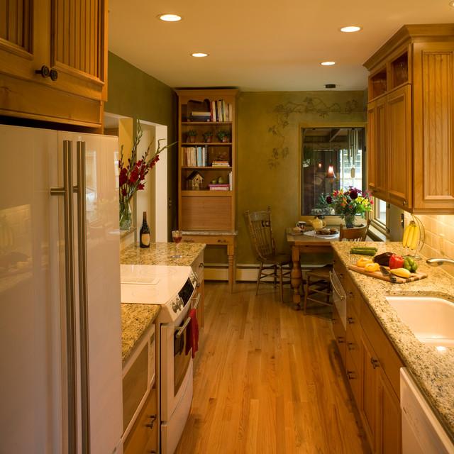 kitchen renovation 1940s bungalow farmhouse-kitchen