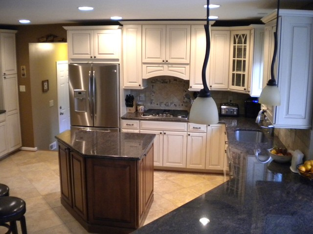 backsplashes for small kitchens kitchen renovation amp laundry room addition in derwood md 4283