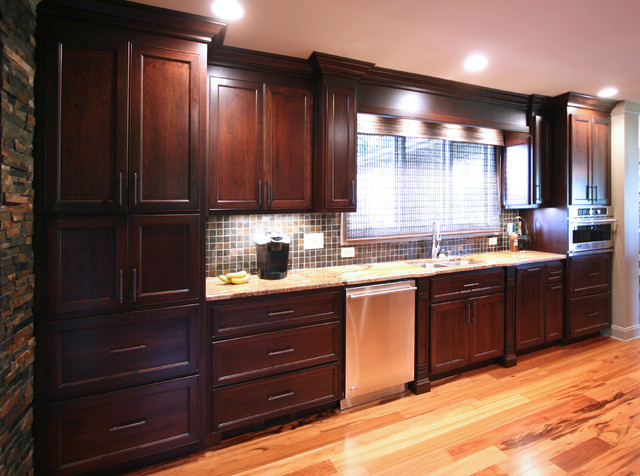 kitchen renovation before and after traditional