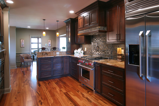 kitchen renovation before and after traditional kitchen