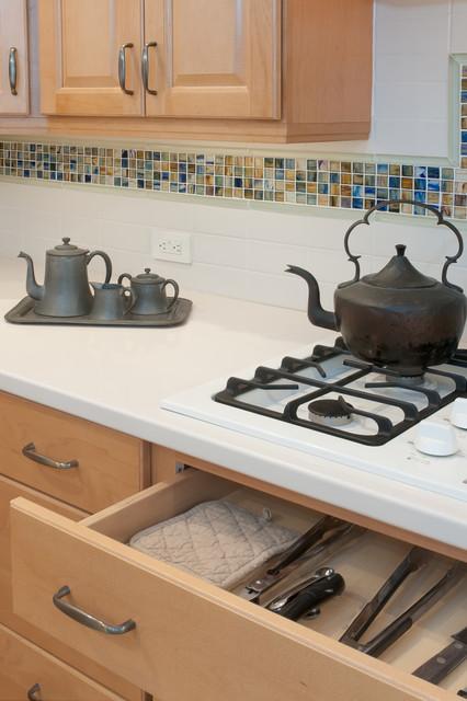 Universal Design Kitchen Toe Kick