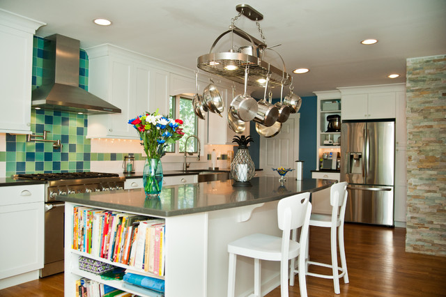 Kitchen Renovation for a Shore Colonial traditional-kitchen