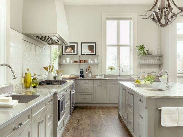 Stone Gray Kitchen Cabinet Design Ideas ~ Kitchen renovation in lafayette square traditional