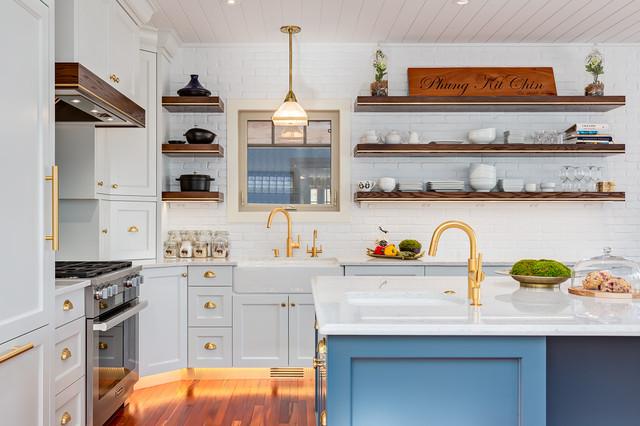 ... - Transitional - Kitchen - Calgary - by JB Custom Woodwork Ltd