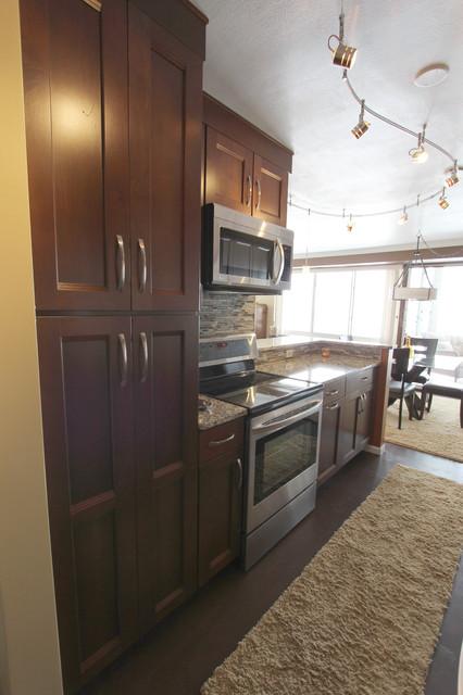 Kitchen renovation lakewood ohio 1 waypoint cabinetry for 1 kitchen cleveland ohio
