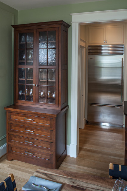 Kitchen Renovation of 1930s Rowhouse traditional-kitchen
