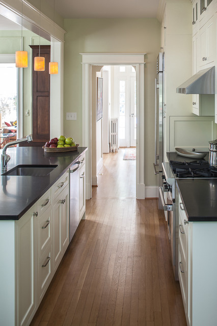 Kitchen Renovation Of 1930s Rowhouse Traditional