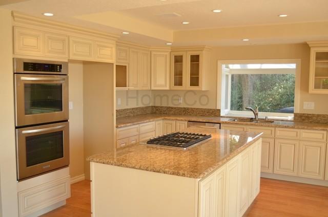 Kitchen renovation orange ca traditional kitchen for Builders warehouse kitchen cabinets