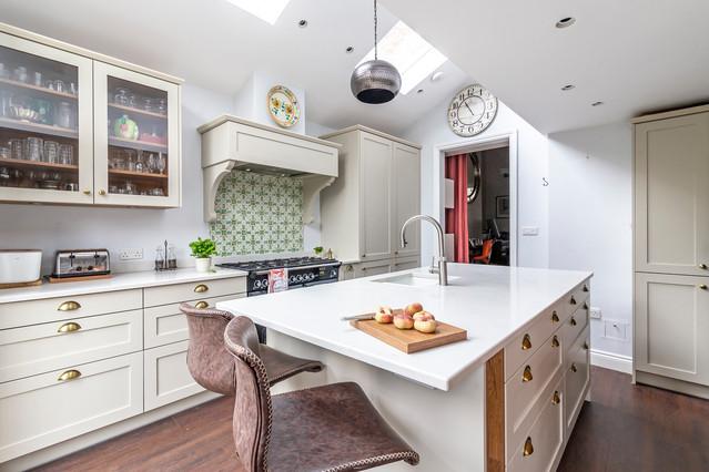 Kitchen Renovation South East London Transitional Kitchen London By Nicola Burt Interior Design Houzz Uk