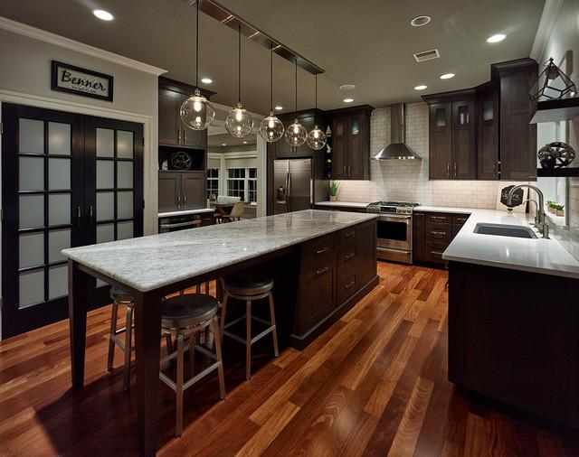 Kitchen Renovation : Truman Court contemporary-kitchen