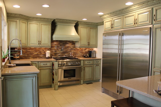 Kitchen renovation updated traditional Traditional