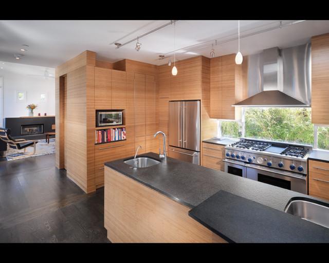 Kitchen modern kitchen san francisco by rossington architecture - Modern kitchen windows ...