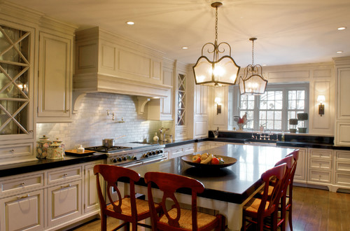 beautiful traditional kitchen