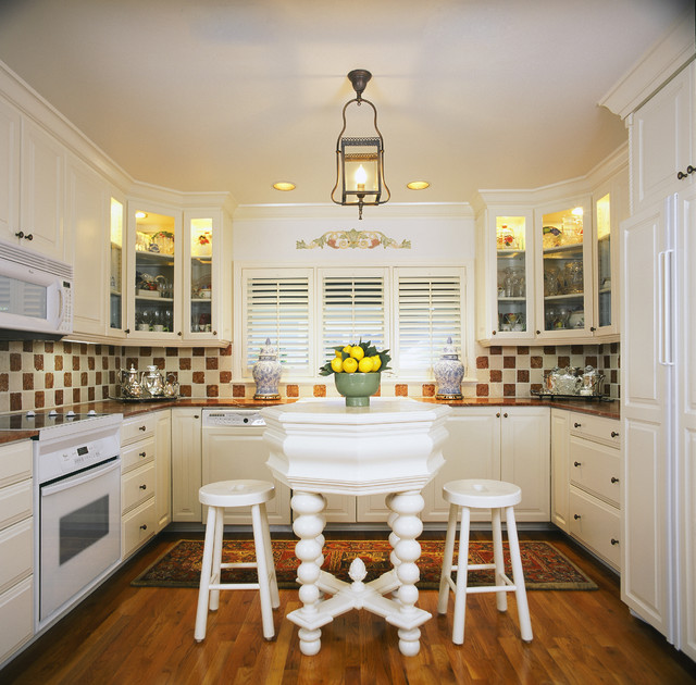 Eclectic Kitchens: By Sandy Crawford
