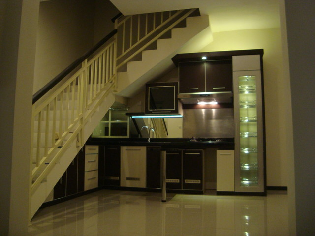 Kitchen Set Minimalis Bawah Tangga Modern Kitchen Other by