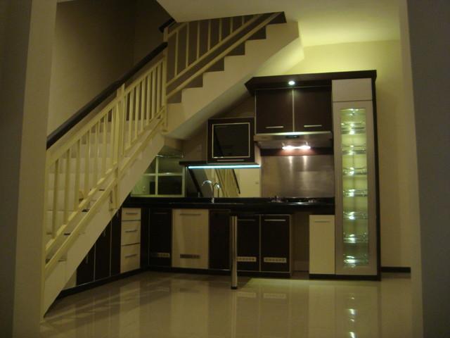 Kitchen Set Minimalis Bawah Tangga Modern Kitchen Other by