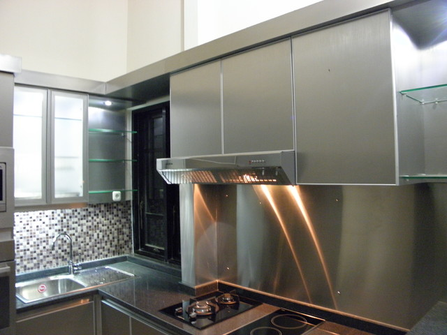 Kitchen Set Minimalis Modern Stainless Steel Di Malang