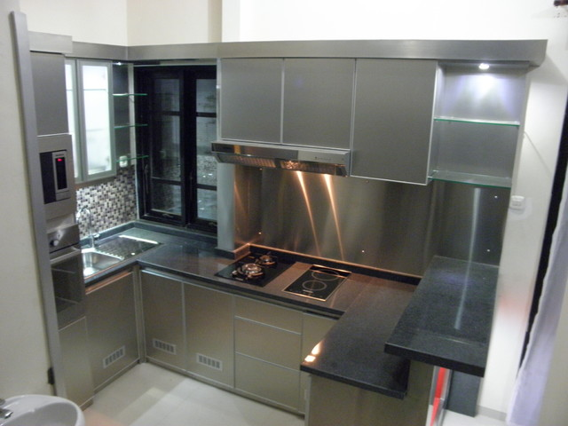 kitchen set minimalis modern kitchen set stainless steel