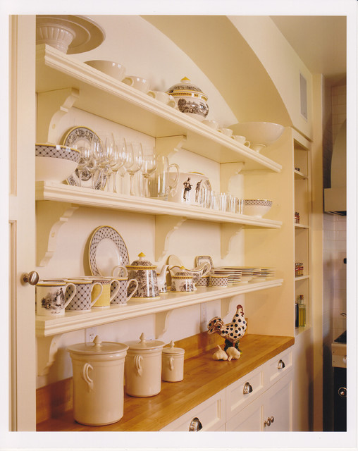 Kitchen Shelves traditional-kitchen