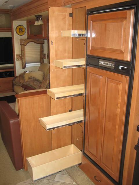 Kitchen shelves traditional kitchen atlanta by for Traditional kitchen shelves