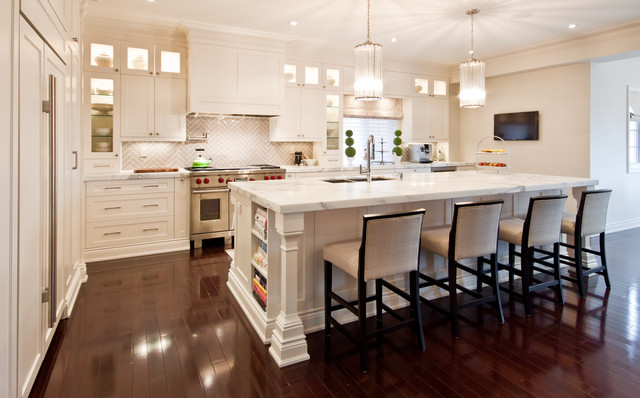contemporary kitchen by Shirley Meisels