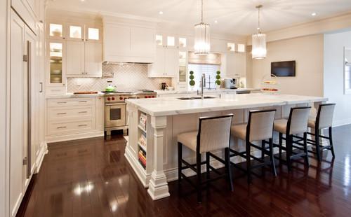 Designer White Kitchens the granite gurus: whiteout wednesday: 5 warm white kitchens