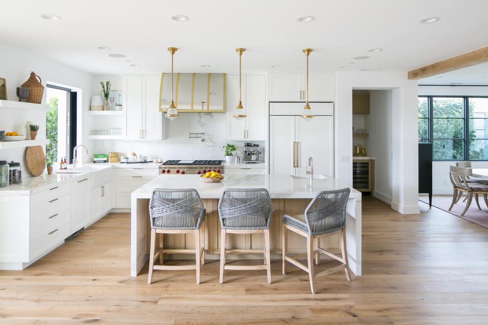 Kitchen - Beach Style - Kitchen - Orange County - by Shop ...