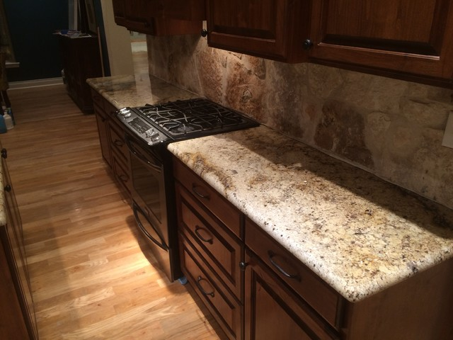 Custom Granite : ... - Sienna Beige - Kitchen - other metro - by Sublime Custom Stone