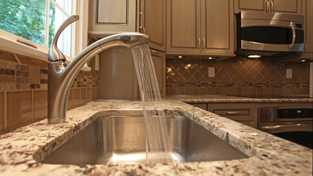 Kitchen Sink Faucets contemporary-kitchen