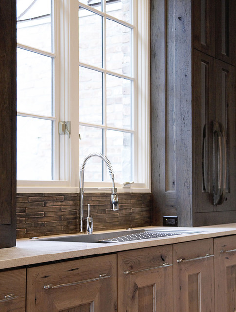 Brilliant Kitchen Sink Window Contemporary Kitchen Chicago By Home Interior And Landscaping Thycampuscom