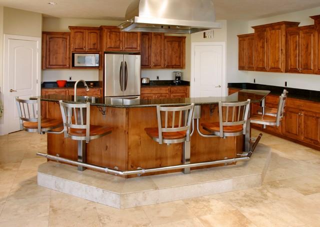 Kitchen Seating traditional-kitchen
