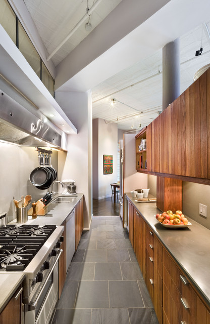 Kitchen, Soho Loft, New York City contemporary kitchen