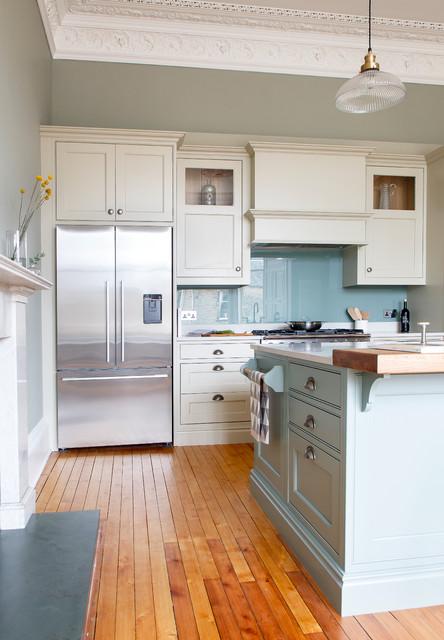 Kitchen south edinburgh transitional kitchen for Kitchen design edinburgh