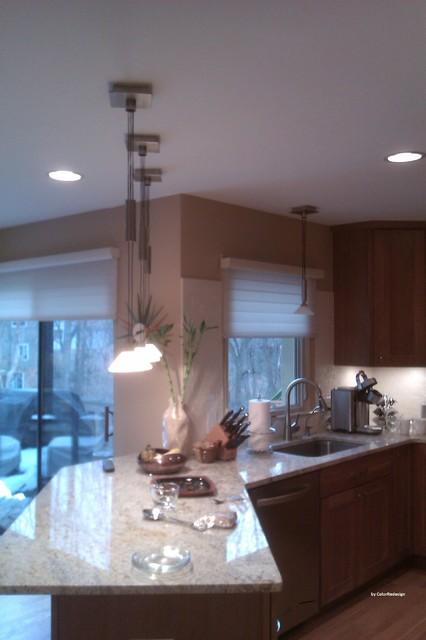 Kitchen space traditional-kitchen