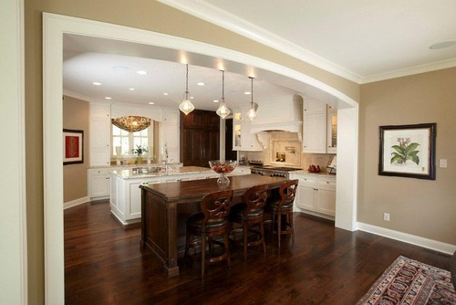 Do you know the name of the taupe paint color i love it for Great kitchen wall colors