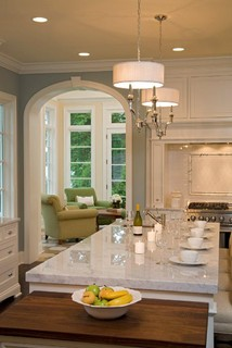 Kitchen for Traditional kitchen color schemes