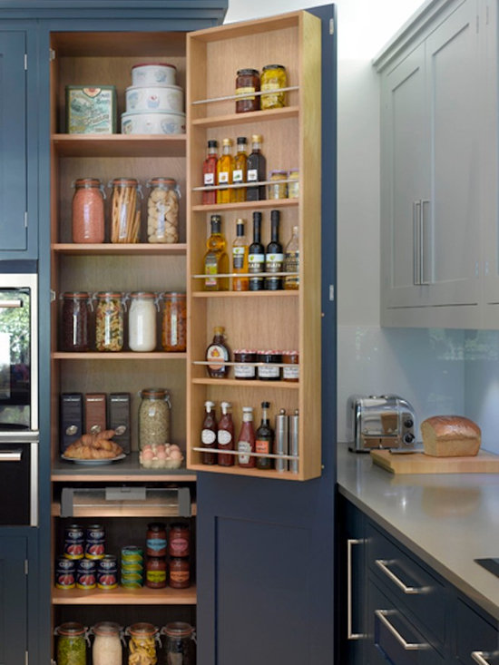 Contemporary bespoke kitchen larder home design photos decor ideas Bespoke contemporary kitchen design