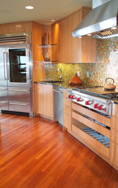 House of Color eclectic kitchen