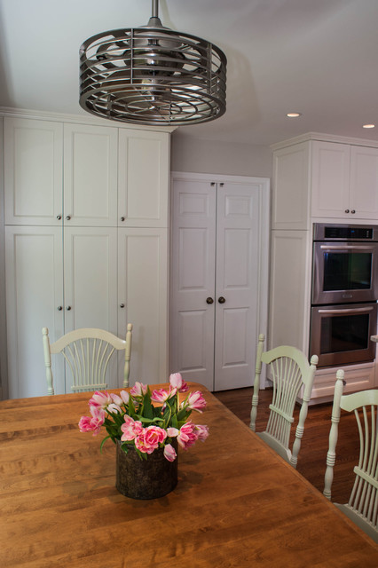 Kitchen Table and Chandelier - Traditional - Kitchen - DC Metro ...