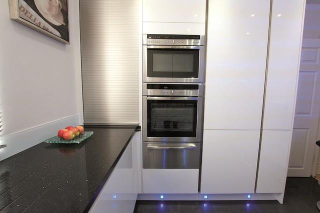 Kitchen Tambour Unit Modern Kitchen Other Metro By