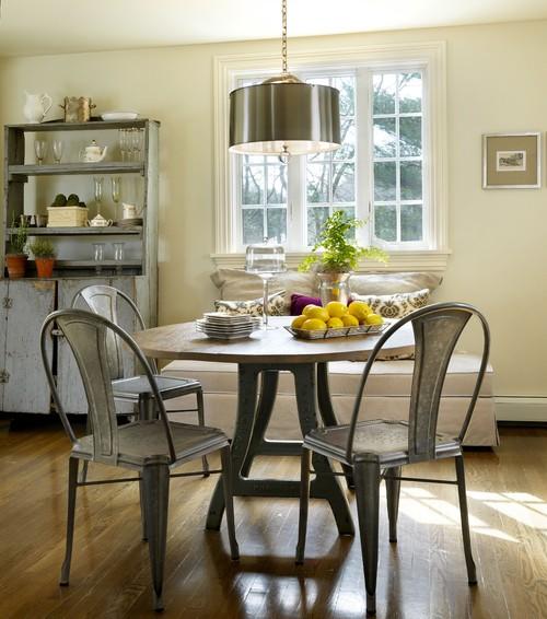 Traditional Kitchen by Jamestown Interior Designers & Decorators Taste Design Inc