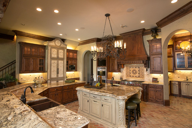 Kitchen Mediterranean Kitchen Other Metro By Terry M Elston Builder